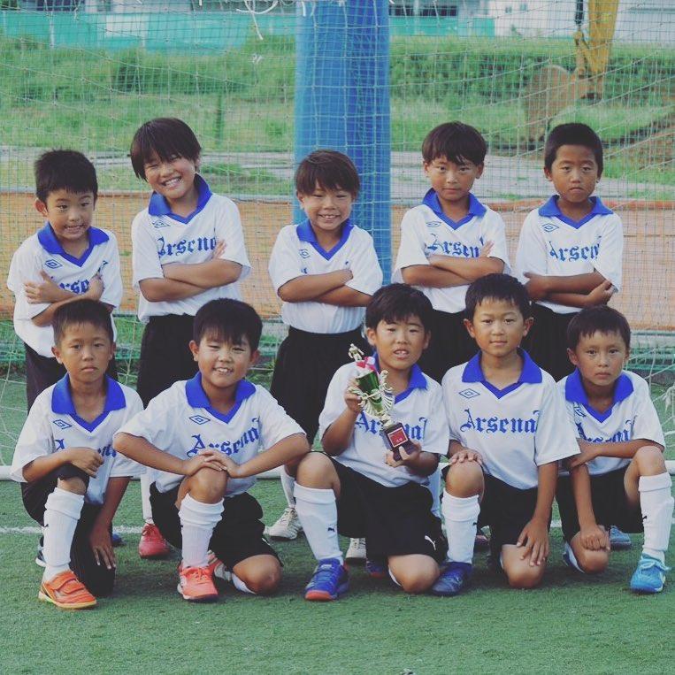 二年生のかわいい勇者たち! #鵠洋アーセナル #鵠洋 #少年サッカー